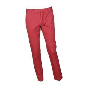 Polo RL Men's Stretch Classic Fit Chino Red, 30x32